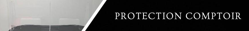 Protection plexiglas, Hygiaphone, Protection avec ou sans fênetre sont fabriqués par Sprint Impression à Rouen